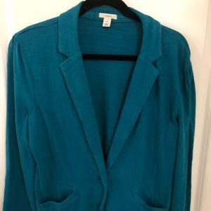 XL Caslon Cotton Blazer